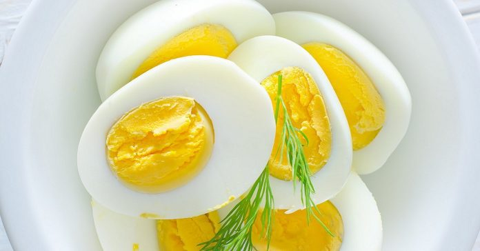 The egg diet for one week