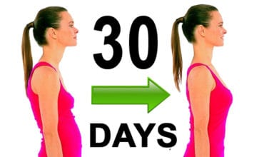 Only 5 minutes per day to get flat abdomen and straight back